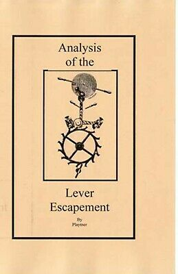 Analysis of the Lever Escapement -How to PDF Book