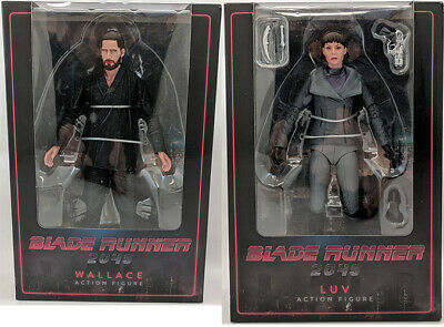 Blade Runner 2049 7 Inch Action Figure Series 2 - Set of 2 (Luv & Wallave)