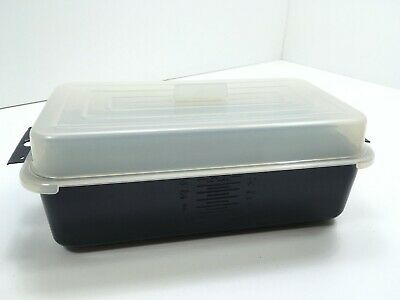 RONCO Showtime Rotisserie & BBQ Model 6000 ORIGINAL STEAMING TRAY w/COVER