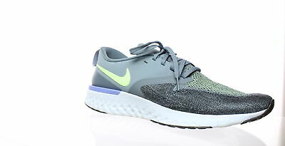 Nike Mens Odyssey React Flyknit 2 Gray Running Shoes Size 10.5 (356489)