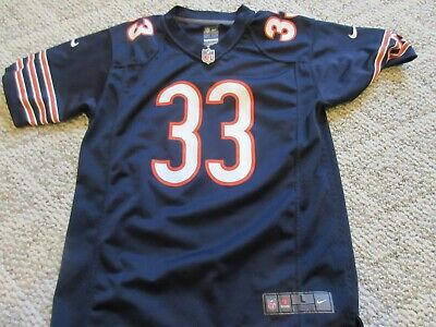 c3ecad59242 Charles Peanut Tillman Chicago Bears #33 Jersey Nike Youth Large 14-16 euc