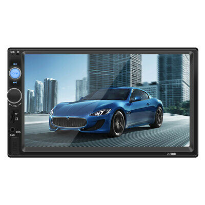 """7""""Double 2 DIN Bluetooth Car Stereo Radio Mp5 HD Video FM Player For IOS Android"""