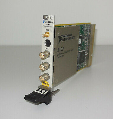 National Instruments PXI-5102 2 Channel, 20 MS/s, 8-Bit Digital Oscilloscope