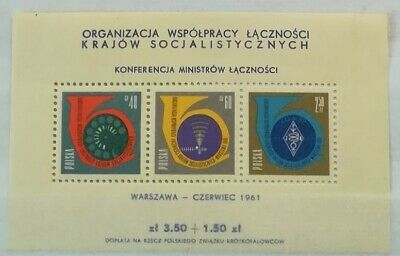 POLONIA 1961 mini-sheet Minister ** MNH