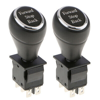 2xOn-Off-On 6-Pin 3 Position Joystick Switch Replacement Car Putter Switches