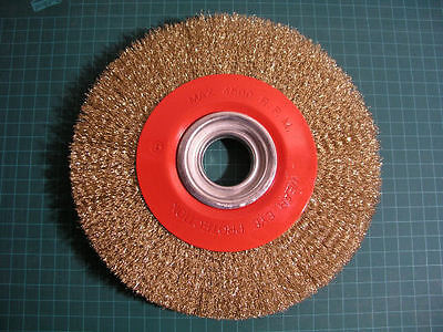 "(L0T of 2) - 8"" Wire Wheel Brush 200mm Bench Grinder"