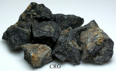 Rough India Nuummite 1-Kilo Lot (RRNU-OA-1k)