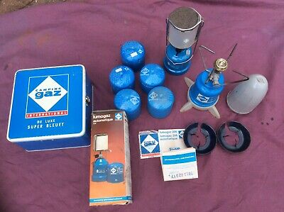 BOXED CAMPING GAZ 206 Lamp - Gas Canisters - Super bleuet