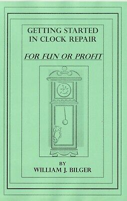 Getting Started in Clock Repair -How to PDF Book
