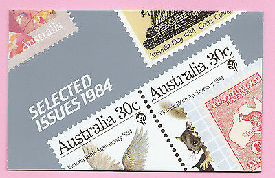 AUSTRALIA 1984 Presentation Stamp Pack - SELECTED ISSUES -  MNH