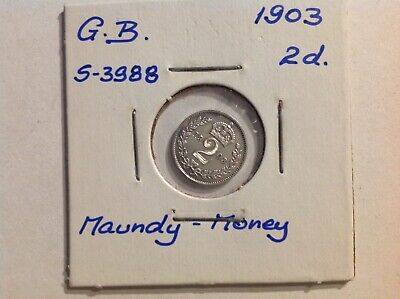 1903 Maundy twopence