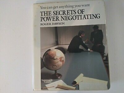 The Secrets of Power Negotiating by Roger Dawson (12 Sessions on 6 Cassettes)