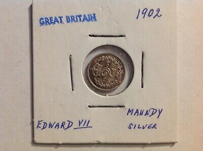 1902 Maundy twopence