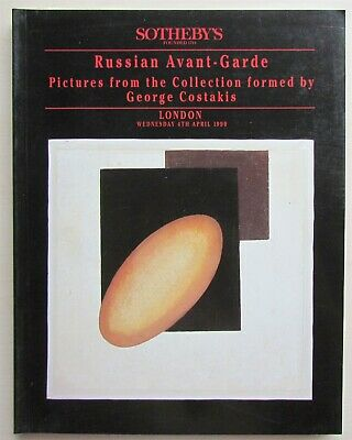 Russian Avant-Garde George Costakis Collection 1998 Sotheby's Auction Catalog