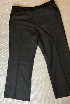 cf11f2bd Modern Amusement Men's Dress Pants Size 38 X 26 28 Dark Grey Tuxedo New
