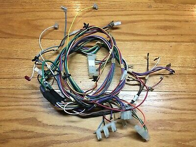 KENMORE DRYER MODEL 96274100 : Main Wire Harness (Part ... on
