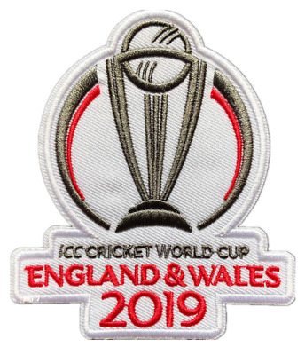 UK STOCK 2019 England Wales World Cup Cricket Shirt Shirt Iron On Patch Badge