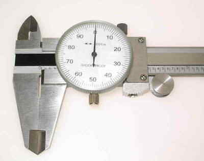 0-150 MM Metric Engineers Dial Caliper