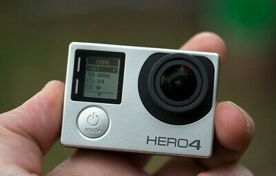 GOPRO HERO4 Nero 4K Ultra HD Impermeabile Videocamera Camera