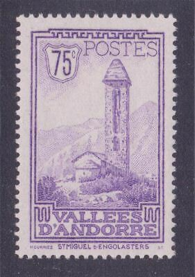 """ANDORRE STAMP TIMBRE N° 37 """" CHAPELLE SAINT MIGUEL ENGOLASTERS 75c"""" NEUF xx LUXE"""