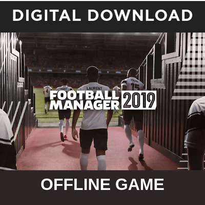 Football Manager 2019 PC Compte Steam Digital Download Full Game Touch/ FM 19
