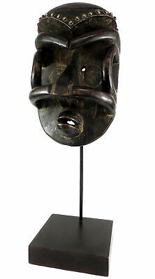 Bete Mask Cote d'Ivoire Custom Stand African Art