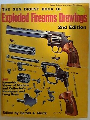 books \u0026 manuals, vintage hunting, hunting, sporting goods page 44the gun digest exploded firarms drawings 2nd edition hunting repair parts