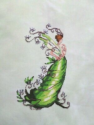 "Nora Corbett ""Poison Ivy"" Completed Cross Stitch"