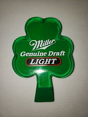 LIGHTED! ROLLING ROCK BEER TAP HANDLE bar DRAFT MARKER