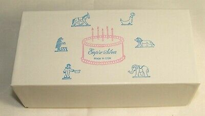 Empire Silver Pewter Candleholders Six Circus Animals For BIRTHDAY PARTY FUN