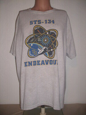 4ab81e3ab SPACE SHUTTLE ATLANTIS STS 135 Final Flight 1981-2011 NASA T shirt ...