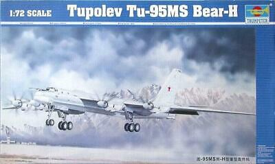 Trumpeter 1/72 Tupolev Tu-95MS Bear H Bomber #01601 #1601  *New Release*