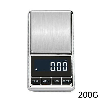 New 500g/200g 0.01 Digital Pocket Scales Jewellery Electronic milligram micro