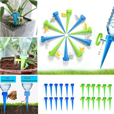 Plant Water Funnel Flower Self Drip Spikes Automatically 12Pcs/set for Garden 3L