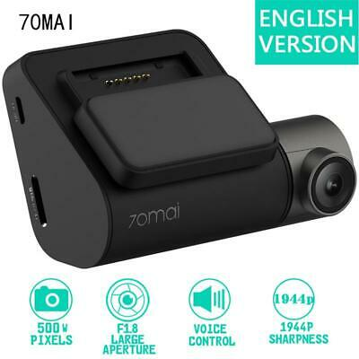 Xiaomi 70mai Dash Cam Pro Smart WiFi Car DVR Camera Video 1944P HD + GPS Module