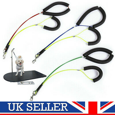 No-Sit Pets Haunch Holder Dog Grooming Restraint Harness Leash Loop for Table