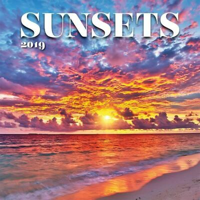 2019 Sunsets Wall Calendar,  by Lang Companies