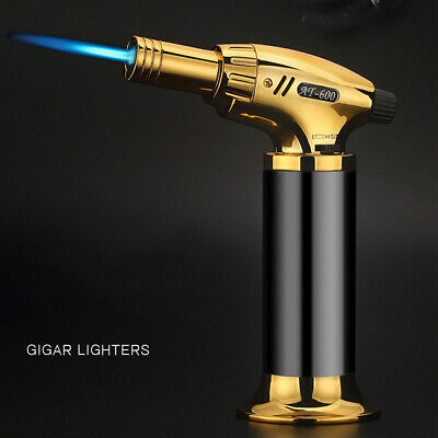 Butane Outdoor Welding Torch Jet Baking Gas Lighter Refillable Windproof Flame