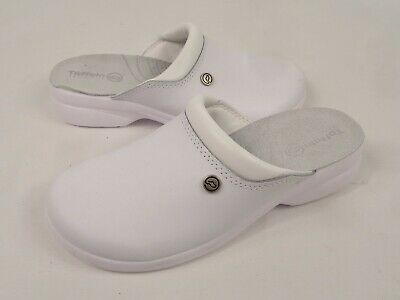 Toffeln FlexLite 0501 White Nursing Nurse Carer Clogs Shoes UK 5 D7 TK15