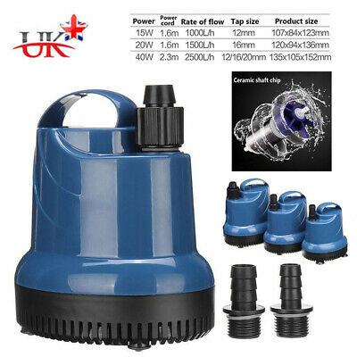 HOT! Submersible Water Pump Fish Tank Aquarium Pond Fountain Spout Feature Pump
