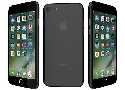 New Overstock Apple iPhone 7  32GB Black A1778 for ATT Network