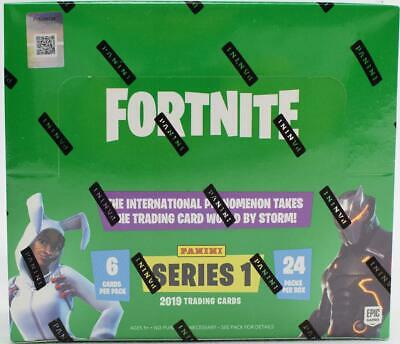 Fortnite Series 1 Trading Cards Hobby Box (Panini 2019) Presell