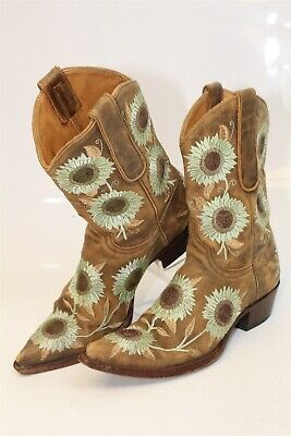 0bf8adc4d5d WOMEN'S 6.5 B M Ariat Ardent Square Toe Floral Western Cowboy Boots ...