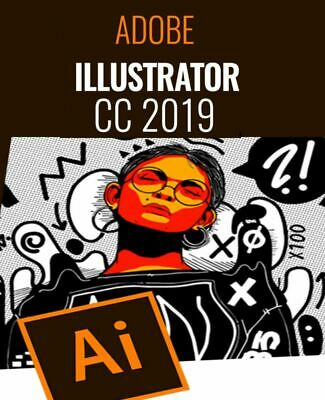 Adobe Illustrator CC 2019 For Win x64 & Win x32 | Lifetime Activated |