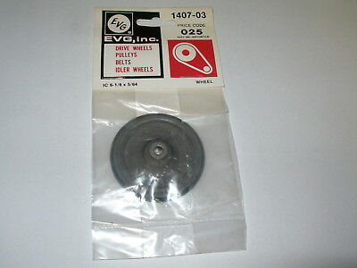 GENUINE EVG RECORD PLAYER IDLER WHEEL Steel Base Model Number 1407-03  NEW