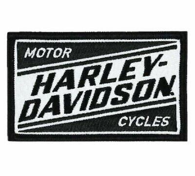 Harley-Davidson Embroidered Ignition H-D Emblem Patch ** Nip **
