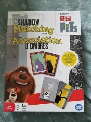 The Secret Life of Pets Shadow Matching Game