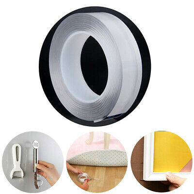 Reusable Double-Sided Nano Adhesive Tape Traceless Washable Gorilla Gel Tape AU