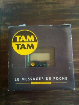 Tam Tam pager TDR OEC 1 avec boite Tbe