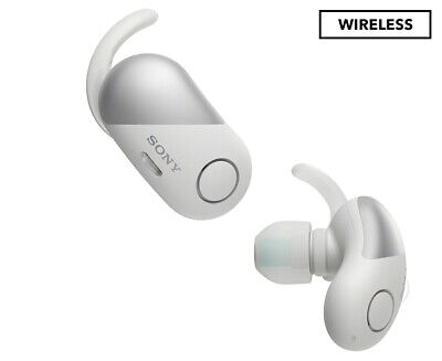 Sony Wireless Noise-Cancelling Bluetooth Earbuds - White